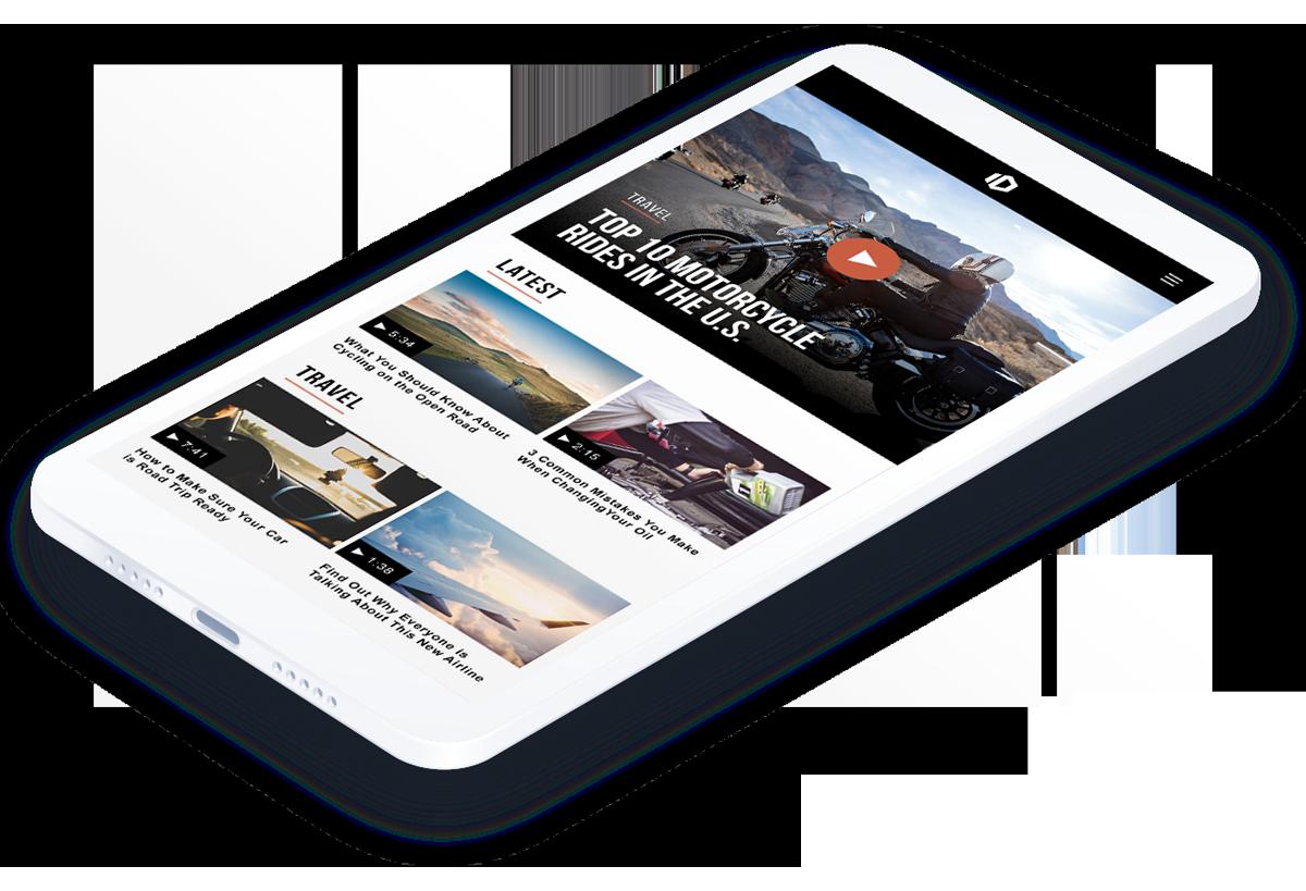 JW Player Mobile SDK app
